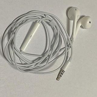 アップル(Apple)のApple ear pods 3.5mmイヤホンジャック  ケース無し(ヘッドフォン/イヤフォン)