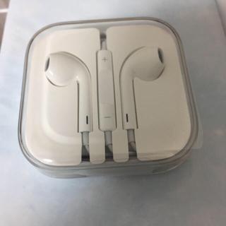 アップル(Apple)の未使用iPhone純正イヤホン(ヘッドフォン/イヤフォン)