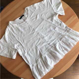 アバハウス(ABAHOUSE)のアバハウス トップス ホワイト レース Tシャツ カットソー(Tシャツ(半袖/袖なし))