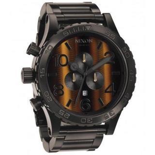 ニクソン(NIXON)のNIXON ニクソン51-30 クロノグラフ タイガーアイ A083-1073 (腕時計(アナログ))