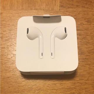 アップル(Apple)のiPhone 純正イヤホン アップル(ヘッドフォン/イヤフォン)