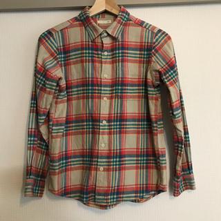 ジーユー(GU)のジーユー チェックシャツ ネルシャツ(ブラウス)