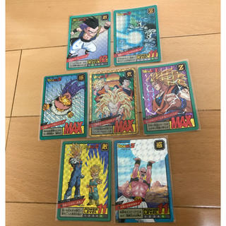 ドラゴンボール(ドラゴンボール)の緑枠ドラゴンボール カードダス スーパーバトル 7g(カード)