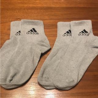 アディダス(adidas)のadidas:靴下 2足組 25~27cm(ソックス)