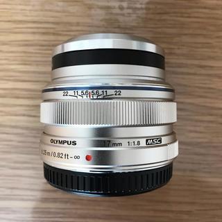 オリンパス(OLYMPUS)の OLYMPUS   M.ZUIKO DIGITAL 17mm F1.8(レンズ(単焦点))