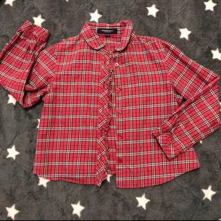 BURBERRY - チェックシャツ バーバリー