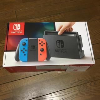 ニンテンドースイッチ(Nintendo Switch)のニンテンドースイッチ本体 新品未使用(携帯用ゲーム本体)