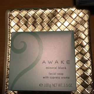 アウェイク(AWAKE)のアウェイク 新品未開封 ミネラルブラック(洗顔料)