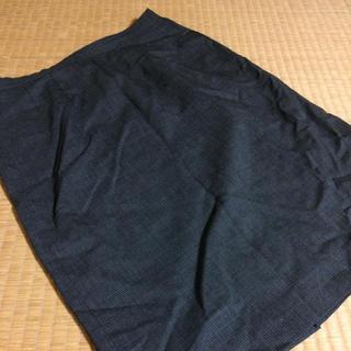タスタス(tasse tasse)のtassetasse グレーブロックペンシルスカート(ひざ丈スカート)