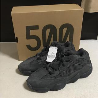 アディダス(adidas)のYEEZY 500 UTILITY BLACK(スニーカー)