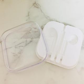 アップル(Apple)の【新品】Apple 純正 イヤフォンケース(ヘッドフォン/イヤフォン)