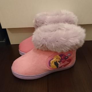 バービー(Barbie)のsale❗💠バービーファーブーツ💠19cm パープル×ピンク barbie(ブーツ)