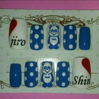 AAA♥LIVEネイル コスメ/美容のネイル(つけ爪/ネイルチップ)