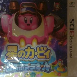 ニンテンドウ(任天堂)の星のカービィ ロボボプラネット(携帯用ゲームソフト)