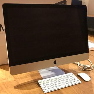アップル(Apple)のiMac(27-inch,Mid 2011)(デスクトップ型PC)