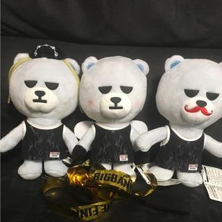ビッグバン(BIGBANG)のKRUNKBEAR3体セット&0TO10オーラスのLIVEテープ(アイドルグッズ)