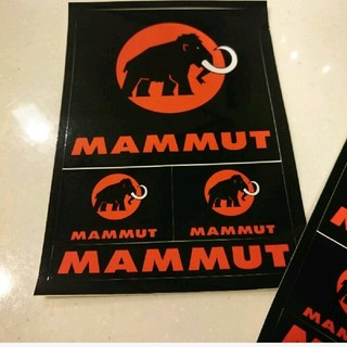 マムート(Mammut)の1枚590円10枚お値下げ5200円 新品 マムート  ポストカード ステッカー(登山用品)
