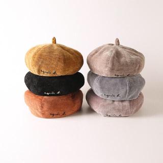 ZARA - キッズ ベビー用ベレー帽 ベルベット