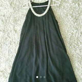 シマムラ(しまむら)のしまむら  パーティードレス ブラック(ミディアムドレス)