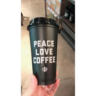 スターバックスコーヒー(Starbucks Coffee)の海外限定★スタバ リユーザブルカップ  黒 スターバックス タンブラー(タンブラー)