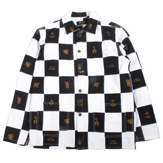 CHESSBOARD PATCH WORK COVERALL JACKET(その他)