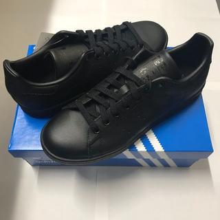 アディダス(adidas)のコアブラック☆アディダス スタンスミス ブラック 黒 メンズ(スニーカー)