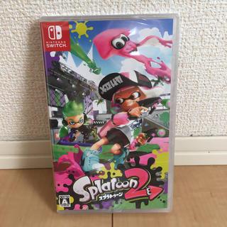 ニンテンドースイッチ(Nintendo Switch)のニンテンドースイッチ スイッチ スプラトゥーン2  ソフト 新品 未開封 (家庭用ゲームソフト)