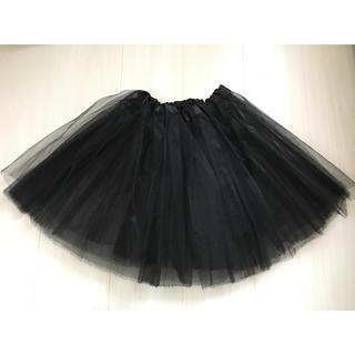 ハロウィン 仮装★パニエ 黒(衣装)