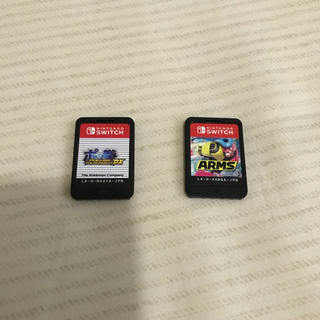ニンテンドースイッチ(Nintendo Switch)の美品 ARMS ポッ拳 - Switch セット(家庭用ゲームソフト)