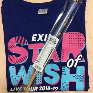 EXILE - EXILE Tシャツ&フラッグ2点セット