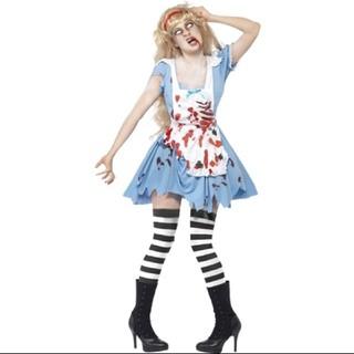 コスプレ メイド ハロウィン衣装(衣装一式)