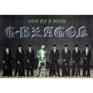 ビッグバン(BIGBANG)のG-DRAGON ONE OF A KIND CD購入初回特典 ポスター(ミュージシャン)