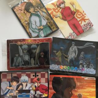 バンダイ(BANDAI)の銀魂☆ウエハースカード、カードダス☆万事屋中心☆まとめ売り レアあり(カード)