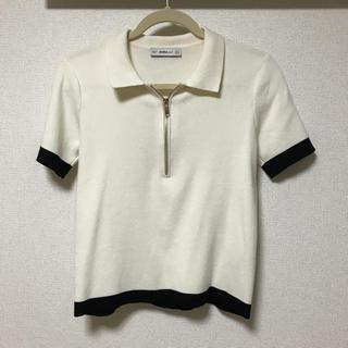 ザラ(ZARA)のZARA ニットシャツ(ニット/セーター)