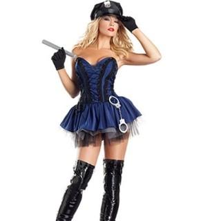 コスプレ 婦人警官 ハロウィン衣装(衣装一式)