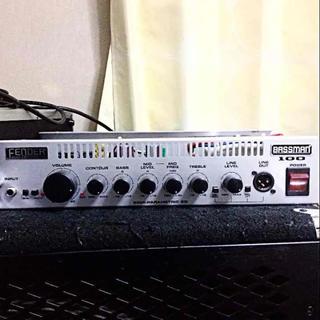 フェンダー(Fender)のfender bassman100 combo ヘッド部のみ ベースアンプ(ベースアンプ)