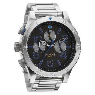 ニクソン(NIXON)のNIXON ニクソン 48-20 MIDNIGHT GT A486-1529(腕時計(アナログ))