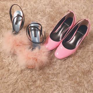 エスペランサ(ESPERANZA)のpink shoes 2足 set ♡girly(ハイヒール/パンプス)