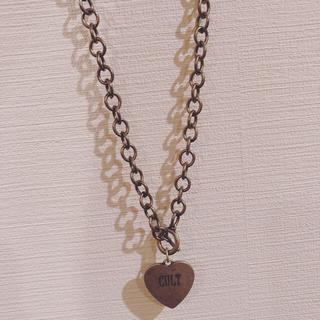 バブルス(Bubbles)のfaith tokyo cult necklace ネックレス(ネックレス)