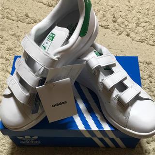 アディダス(adidas)の新品 アディダス スタンスミス ベルクロ 23.5(スニーカー)