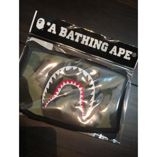アベイシングエイプ(A BATHING APE)の☆限定☆ APE シャークマスク(その他)
