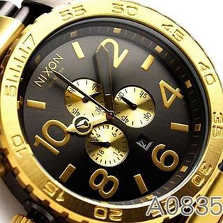 ニクソン(NIXON)のNIXONニクソン A083-595 GUNMETAL/GOLD(腕時計(アナログ))