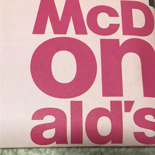マクドナルド(マクドナルド)のマクドナルド 株主優待 1冊 送料込み いさな様専用(フード/ドリンク券)