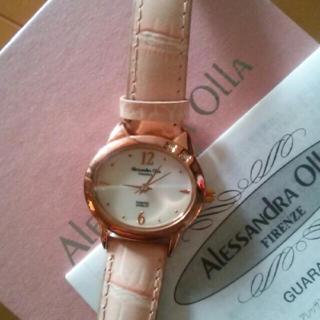 アレッサンドラオーラ(ALESSANdRA OLLA)の猫 時計 文字盤シェル(腕時計)
