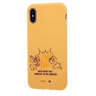 チップアンドデール(チップ&デール)のディズニー チップとデール iPhonex シリコンケース(iPhoneケース)