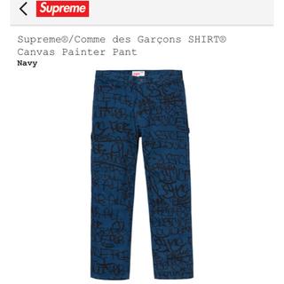 シュプリーム(Supreme)のsupreme comme des garcons painter pant  (ペインターパンツ)