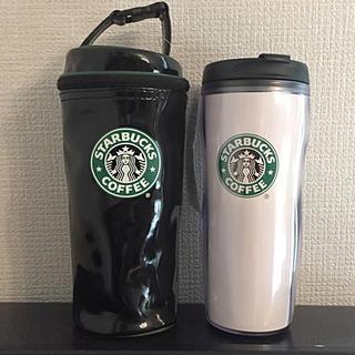 スターバックスコーヒー(Starbucks Coffee)の新品  スターバックス  旧ロゴ  タンブラーとケース(タンブラー)