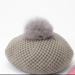 アバハウス(ABAHOUSE)のニットベレー帽(ハンチング/ベレー帽)