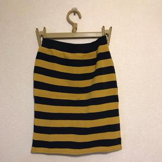 アバハウス(ABAHOUSE)のアバハウス ボーダースカート(ひざ丈スカート)
