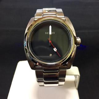 ニクソン(NIXON)のNIXON KING PIN SILVER BLACK(腕時計(アナログ))